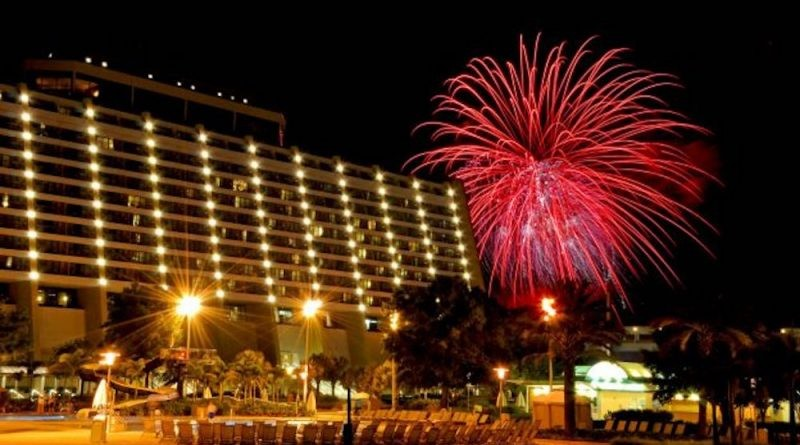 Fiestas de Año Nuevo en Disney´s Contemporary Resort