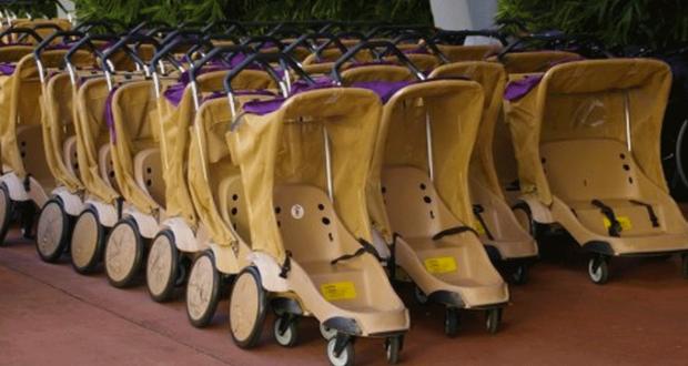Nuevo sistema para estacionar cochecitos de bebes