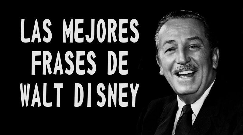 Las mejores frases de Walt Disney